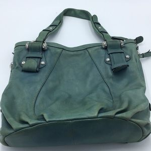 B. Makowsky Leather Tote